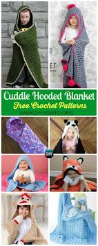 Hooded Blanket Crochet Pattern Custom Inspiration