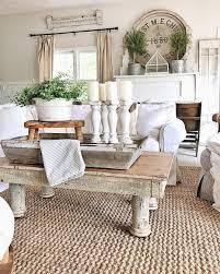 farmhouse furniture style. 1. Butcher Block Table And Baluster Candle Stands Farmhouse Furniture Style O