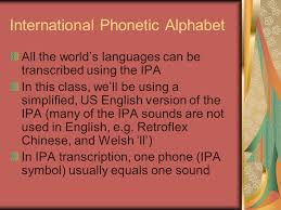 This is enough to get you started. Introduction To Phonetics Ppt Video Online Download