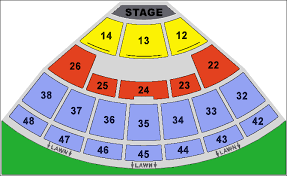 Blossom Music Center Seating Chart With Seat Numbers 54 Particular Blossom Music Center Seating Chart Pit