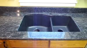 steel grey custom granite countertop installation w composite undermount sink you