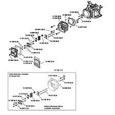 kohler engine parts model xt6752015 sears partsdirect head valve br