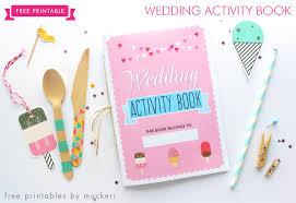 Free Printable Wedding Activity Book