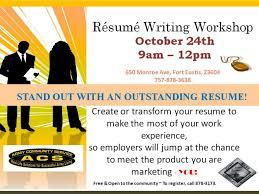 Free Resume Writing Services Joint Base LangleyEustis Resume Writing Workshop 70