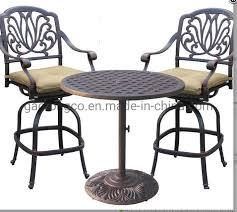 outdoor coffee barstools bistro set