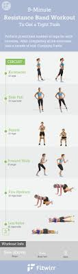 workout exercises with resistance bands