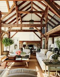 Wood Interior Design Structural Ceiling Beams That Add Dimension Massachusetts Beams