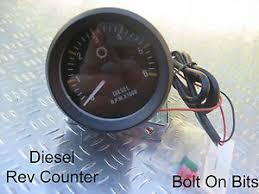 rdx 52mm diesel rev tachometer counter td5 gauge land rover image is loading rdx 52mm diesel rev tachometer counter td5 gauge