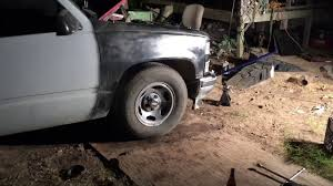 Lowering 4/6 92 Chevy obs - YouTube
