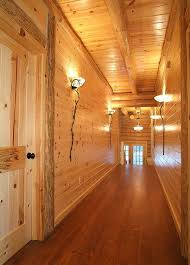 knotty red pine paneling tongue groove woodhaven log lumber