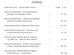 Sample Of Work Drafting Portfolio