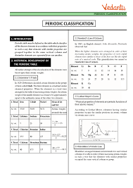 Class 11 Chemistry Revision Notes For Chapter 3