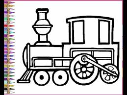 Small Picture Trains Coloring Pages For Kids Trains Coloring Pages YouTube