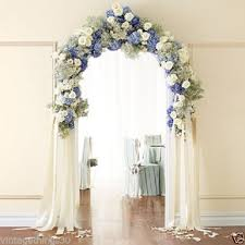 indoor wedding arches. 7 foot white wedding arch indoor outdoor decor | ebay arches d