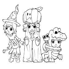 Small Picture Halloween Coloring Pages Printable Cheap Printable Halloween