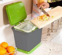 allows oxygen to flow through organic kitchen waste reducing odors