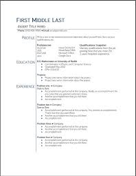 College Student Resume Templates Microsoft Word 20 College Student