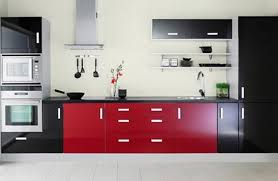 Red And Black Kitchen Designs 1000 Images About Kitchen Monochromatics On  Pinterest Galley Best Ideas