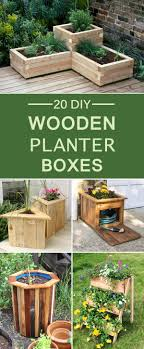 Large Wooden Boxes To Decorate Decoration Wood Planter Ideas Small Wooden Planters Vegetable 82