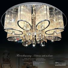 modern chandelier lighting staircase led crystal chandeliers fixture for hotel lobby foyer ball shape rain drop pendants contemporary light