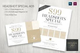 Ad Page Templates Special Magazine Ads 2 Sizes Template For Id Full Page