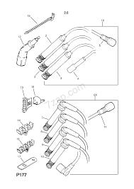 Spark plug wires contd 20se l96 c20ne le4 petrol engines opel omega a