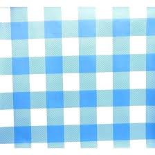 vinyl table cloth fabric gingham table cloth large gingham check oilcloth vinyl tablecloth fabric light blue