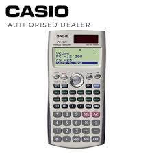 Financial Calculator Casio Fc 200v Financial Calculator