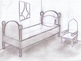 simple bedroom drawing. Latest Bedroom Drawing Perspective Sketch 1600x1203 487kb Simple