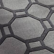 grey geometric rug cievi home