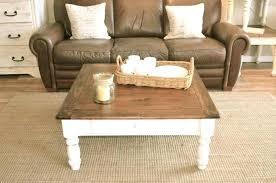 diy farmhouse coffee table diy chunky farmhouse coffee table