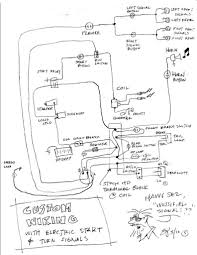 Harley shovelhead wiring diagram and