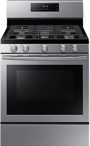 gas range. Cooking Products - Samsung Free-Standing Gas Range \u2013 Stainless Steel 3