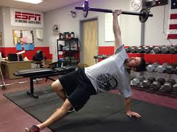 while holding this position lift and pull your left foot under your into a lunge position keeping all of your weight balanced between your left hand