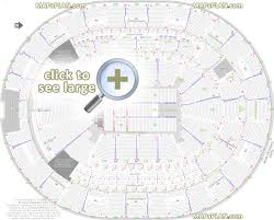 Aac Seating Chart With Seat Numbers Amway Center Seat Row Numbers Detailed Seating Chart