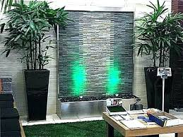 outdoor water wall outdoor water wall interlocking stacked stone stainless steel outdoor water walls for
