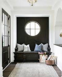 Bench seat inspo | b u i l t - i n s in 2019 | Foyer decorating ...