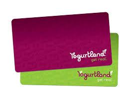 yogurtland gift card balance photo 1