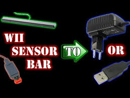 converting wii sensor bar to external power or usb