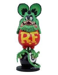 rat fink ed roth 8 ball edition sofubi by dunk