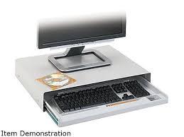 innovera 53001 standard desktop keyboard drawer 20 5 8 x 10 light