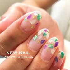 夏海浴衣オフィスハンド New Nailのネイルデザインno3378183