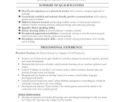 Teaching Assistant Resume Undergraduate Objective Teachers