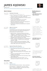 Resumes For Assistant Principals Cover Letter Samples Cover