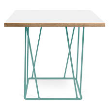 modern side tables  helix white  green end table  eurway