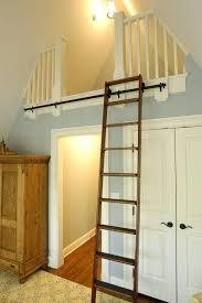 view larger diy library ladder rolling kit loft