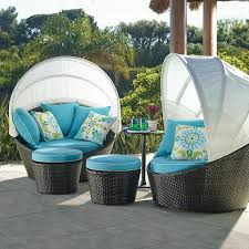 Amazing of Outdoor Daybed With Canopy with Outdoor Wicker Furniture ...