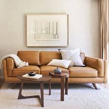 zander leather sofa