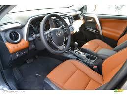 cinnamon interior 2017 toyota rav4 limited awd hybrid photo 116140367