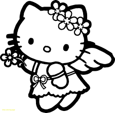 Printable hello kitty coloring pages are suitable for kids of all ages. Hello Kitty Coloring Book Download Coloring Pages Allow Kids To Accompany Their Favorite Cha Hello Kitty Coloring Hello Kitty Colouring Pages Kitty Coloring